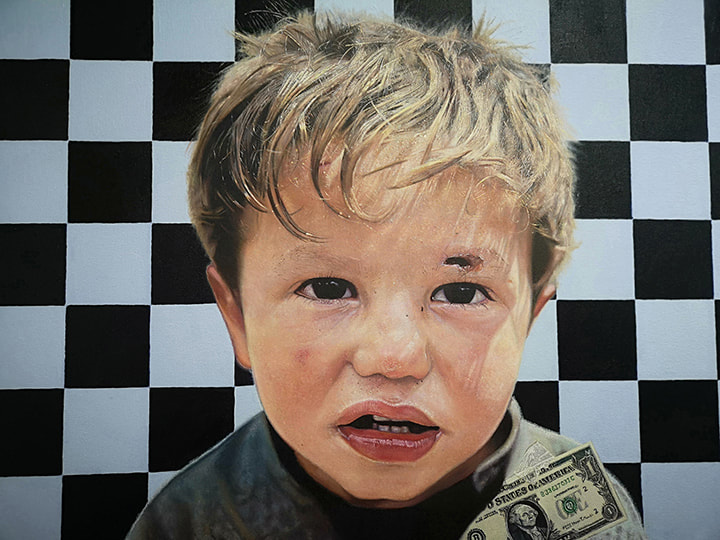 art, james earley, hyperrealism, painting, photography, social issues, the innocence project,
