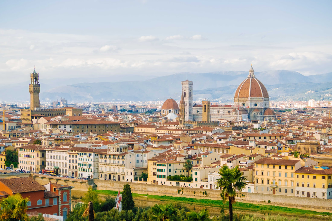 FLORENCE, PIAZZALE MICHELANGELO, italy, art, city trips, city breaks,