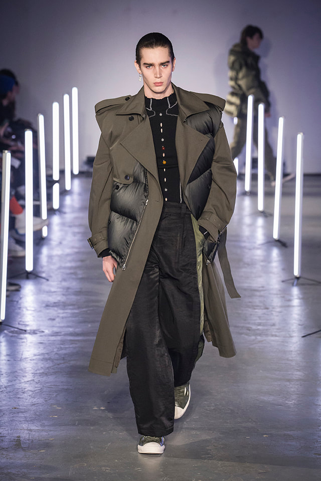 Feng Chen Wang, AW202, London fashion week mens, LFWM 2020, fashion, mens suites,