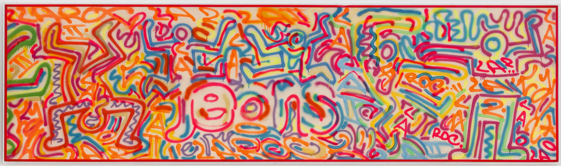 Keith Haring, Untitled, 1986, Sumi ink on paper