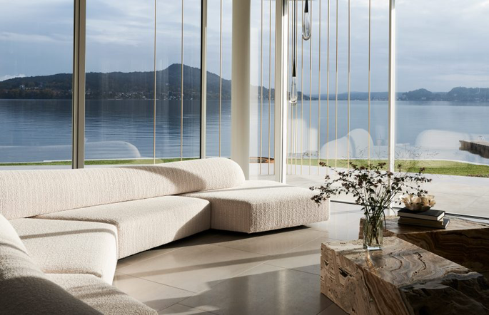yoga, lago maggiore. interior design, minimal, Design Haus Liberty, interior, architecture, home, italy lake,