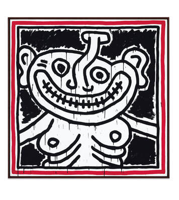 Keith Haring, American Icon, Pop Art, Tate Liverpool, 60s pop culture, AIDS, 80s, opera gallery,