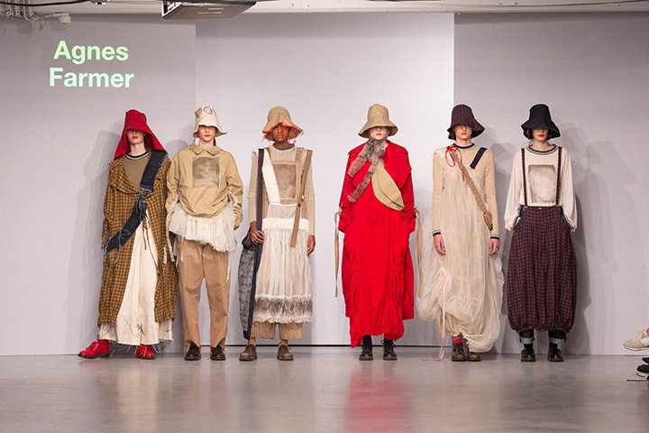 The Winchester School of Art,  fashion, design, lfw, lfwm, maysie mountfield, mens fashion, pop pr, sofashion, agnes farmer