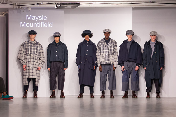 The Winchester School of Art,  fashion, design, lfw, lfwm, maysie mountfield, mens fashion, pop pr, sofashion